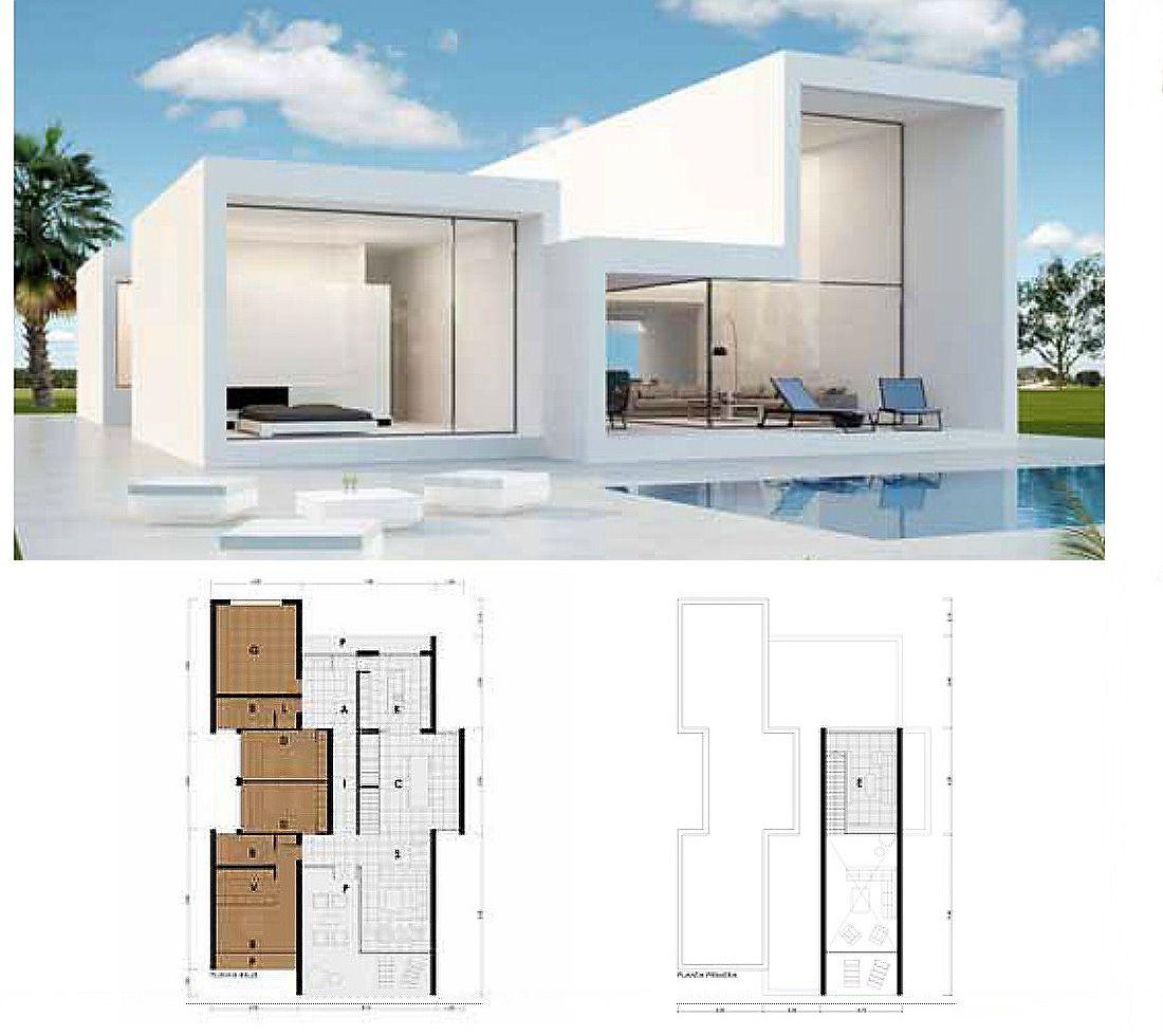 Maket Ev House Layouts Modern House Plans House Plans