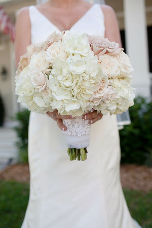 Garden Rose And Peony Bouquet bridal bouquet : wedding hydrangeas roses jorgecrystal1085