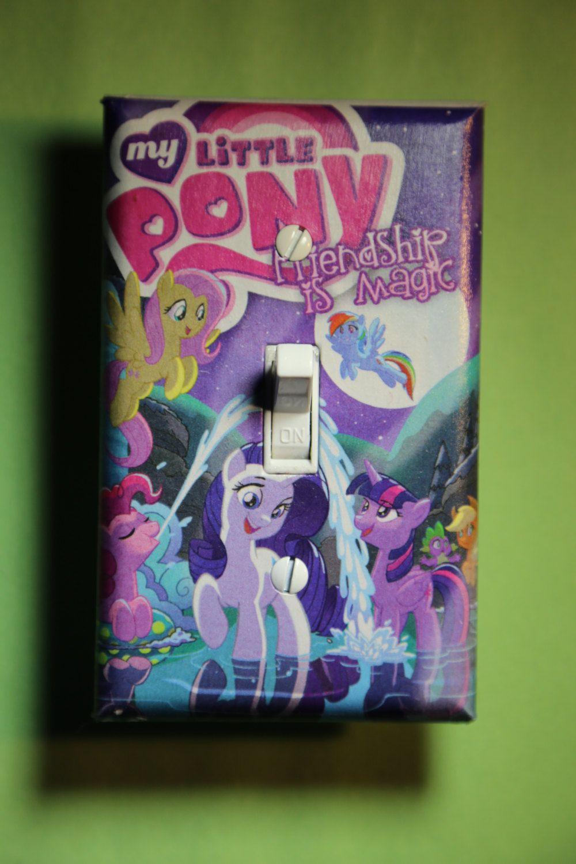 My Little Pony Twilight Sparkle Pinkie Pie Light Switch Plate
