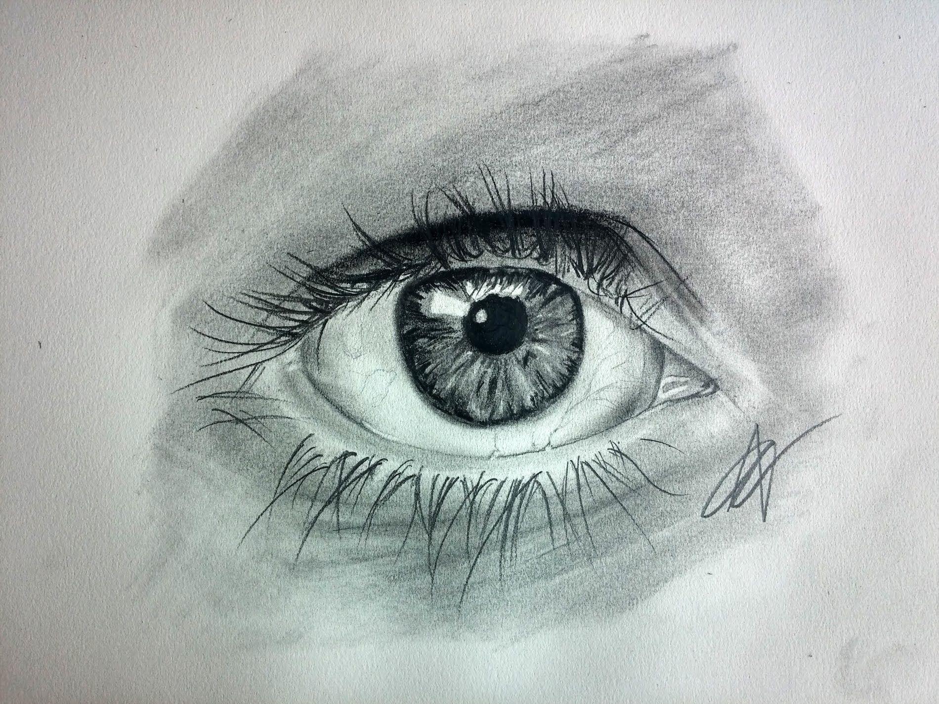 Como Dibujar Un Ojo Realista Paso A Paso Dibujos Ojo Realista