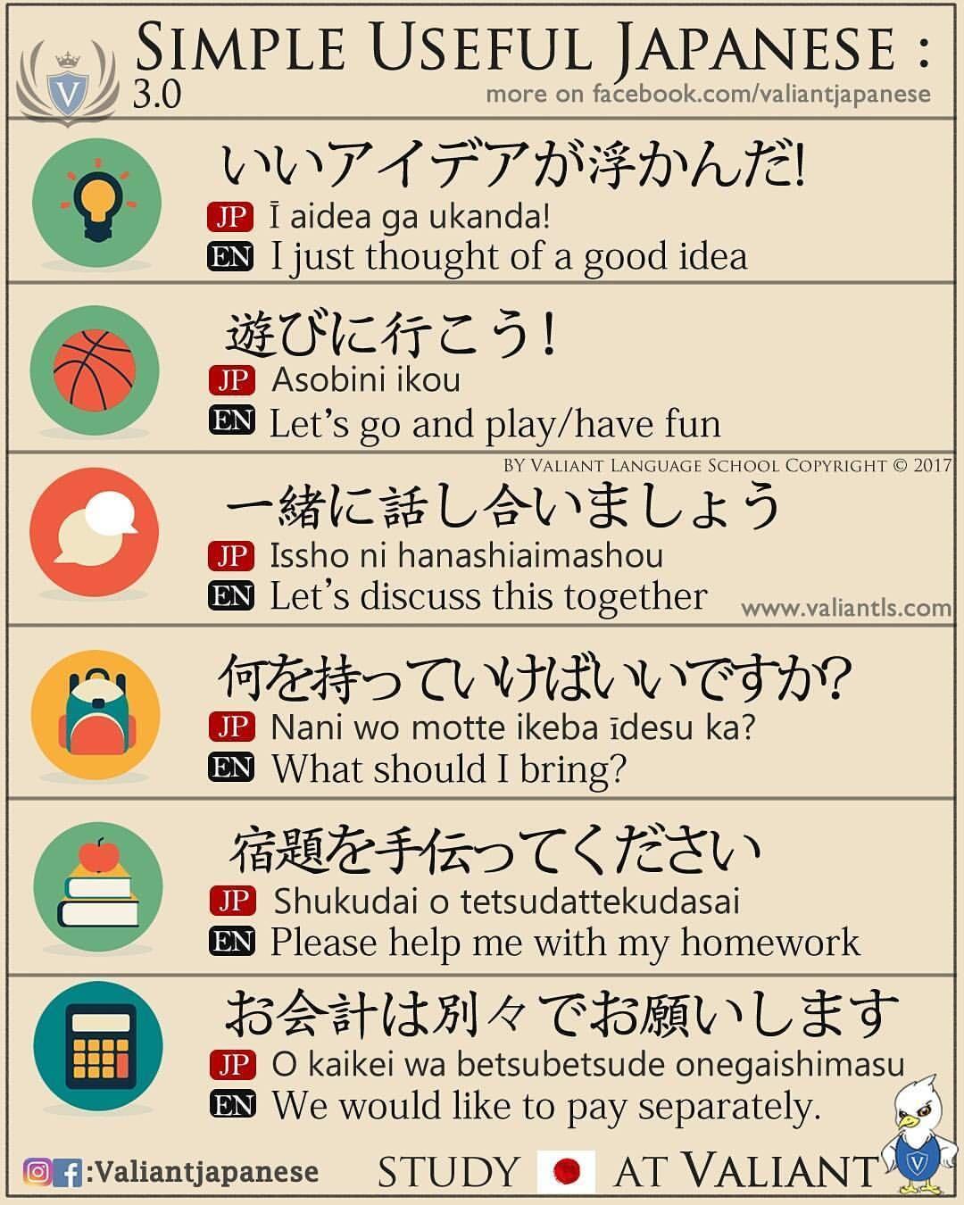 Simple Useful Japanese Part 3.0