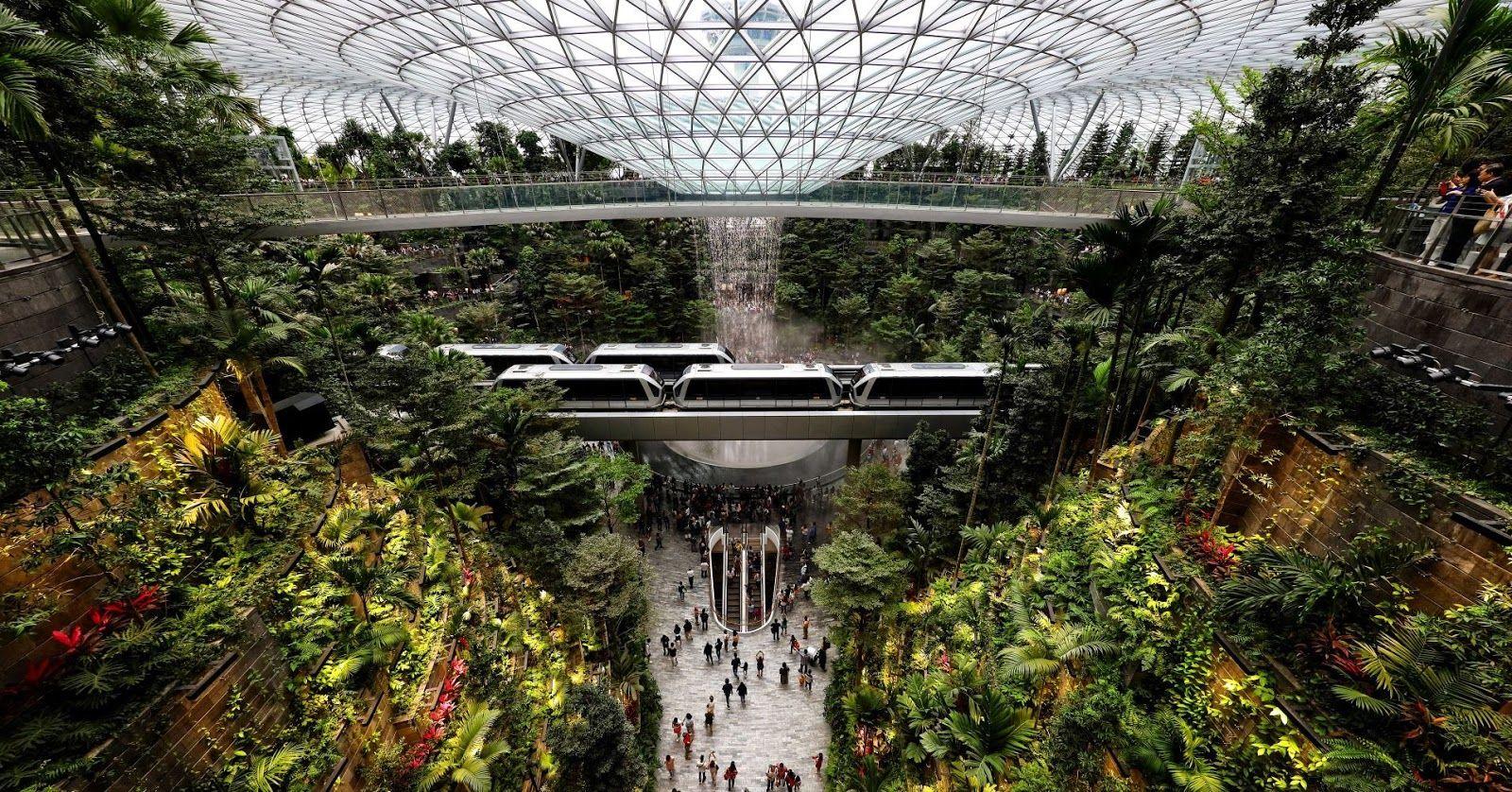 Singapore Changi Airport S New 1 3 Billion Lifestyle Hub