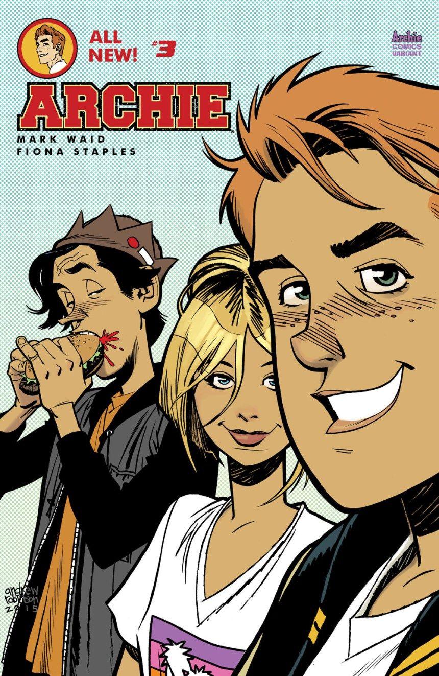 Archie comics in september 2015 archie comics archie