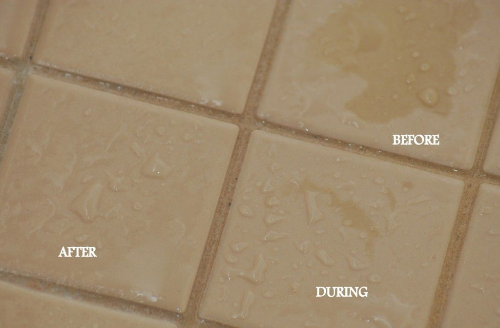 Soap Pad to clean shower tiles
