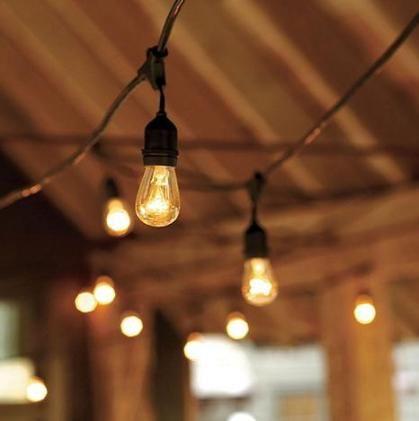 Outdoor Lights String Outdoor Vintage Inspired String Lights From Ballard Design Fyi I