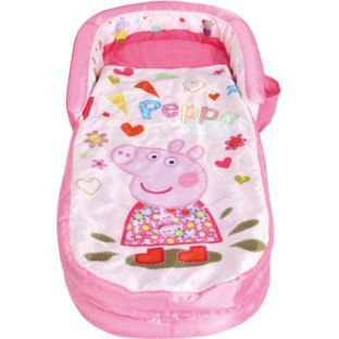 Buy Peppa Pig My First Readybed Toddler At Argos Co Uk Your Online Shop For Children S Beds Toddler Travel Bed Toddler Sleeping Bag Camping With Toddlers