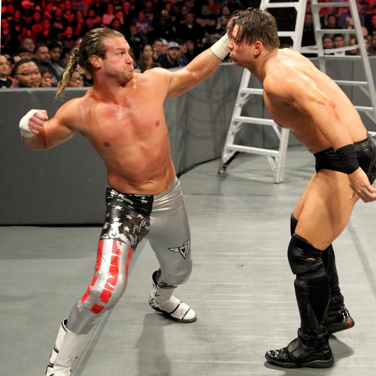 Photos: Miz, Dolph step it up in a Ladder Match for the ...