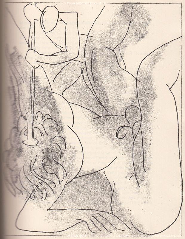Henri Matisse's Rare 1935 Etchings for James Joyce's Ulysses | Brain Pickings