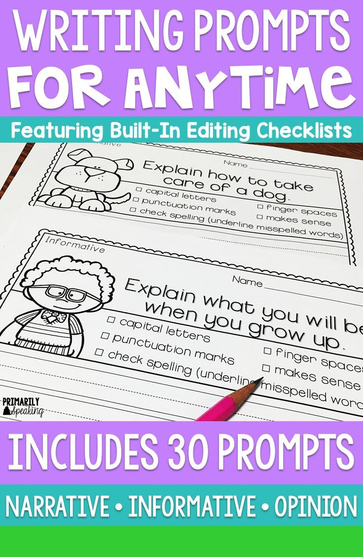 Writing Prompts For Anytime Narrative Writing Prompts Writing Prompts Writing