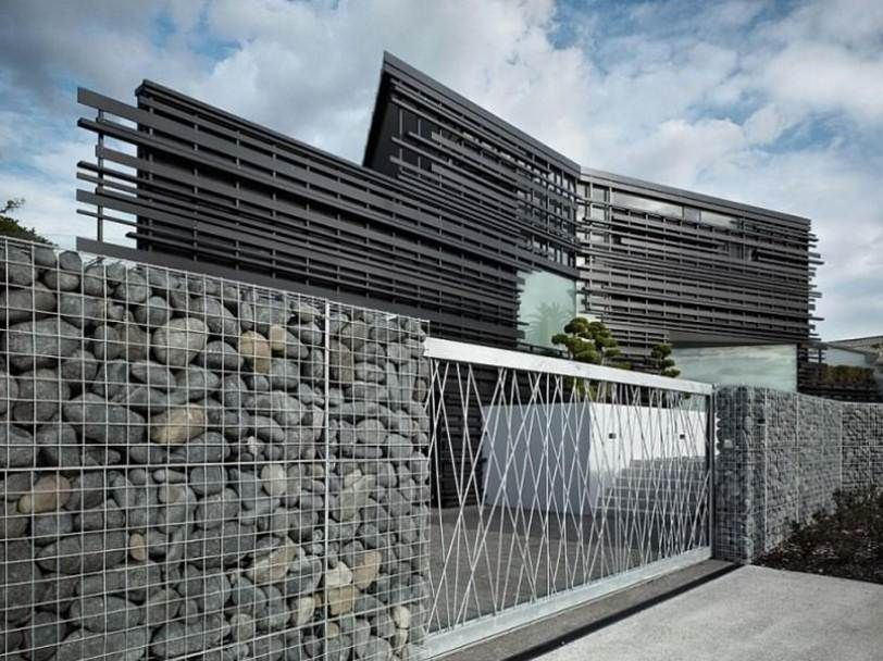 Interesting modern outdoor fence ideas architectural and for Home material pictures