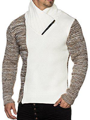 grobstrick sweatshirt herren