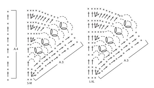 "Cornerpiece - Heklet DROPS poncho i ""Merino Extra Fine"" med viftemønster, heklet ovenfra og ned. Str S - XL - Free pattern by DROPS Design"