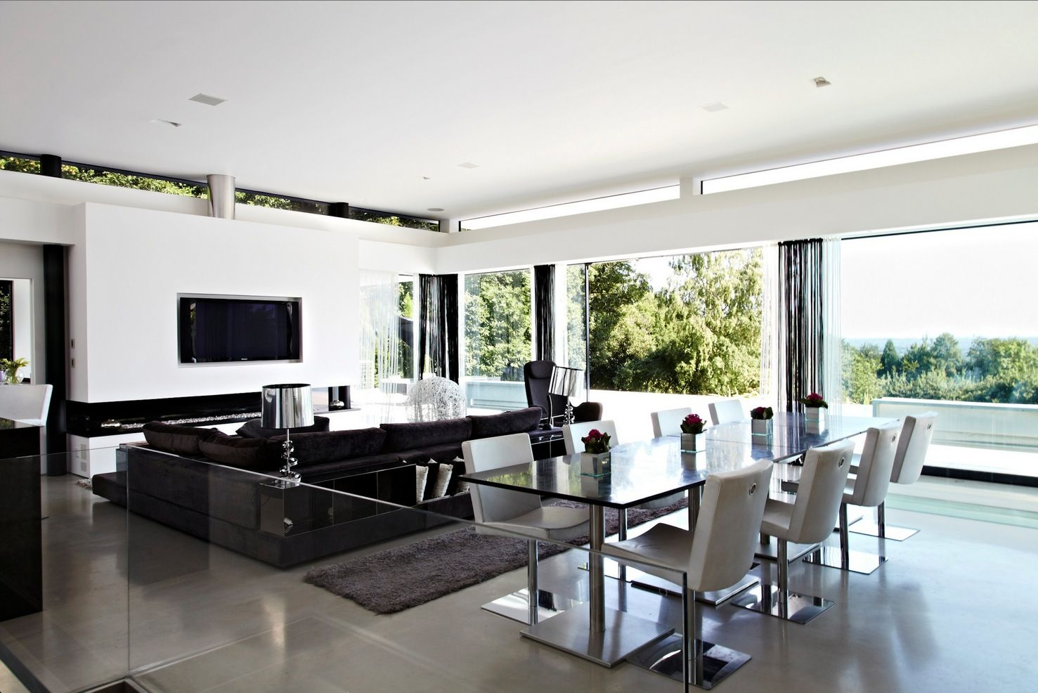 Exceptional Most Modern Interior Design For Open Space In Your Home