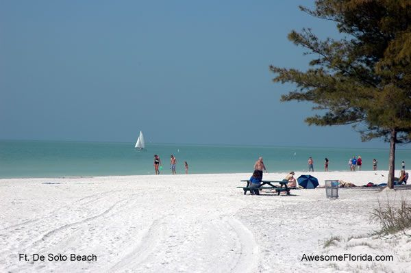 Fort De Soto Beach A Favourite For March April And Early May Water