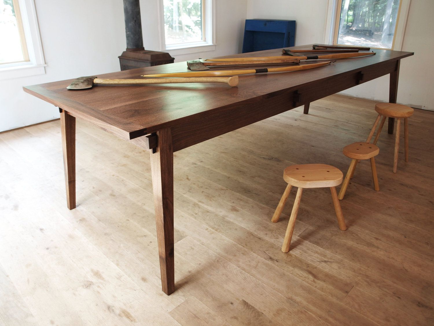 Span Dining Table Brian Persico With Images Dining Table