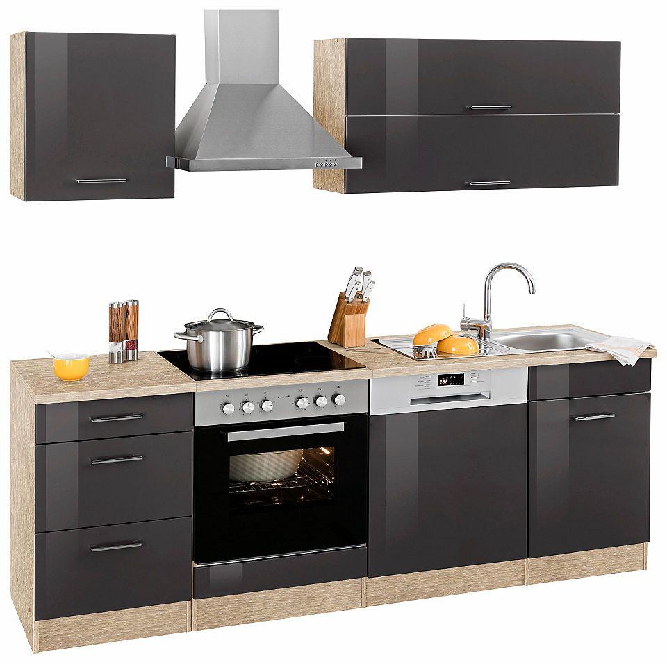 Held Möbel Küchenzeile »Graz« ohne E-Geräte, Breite 220 cm Jetzt ...