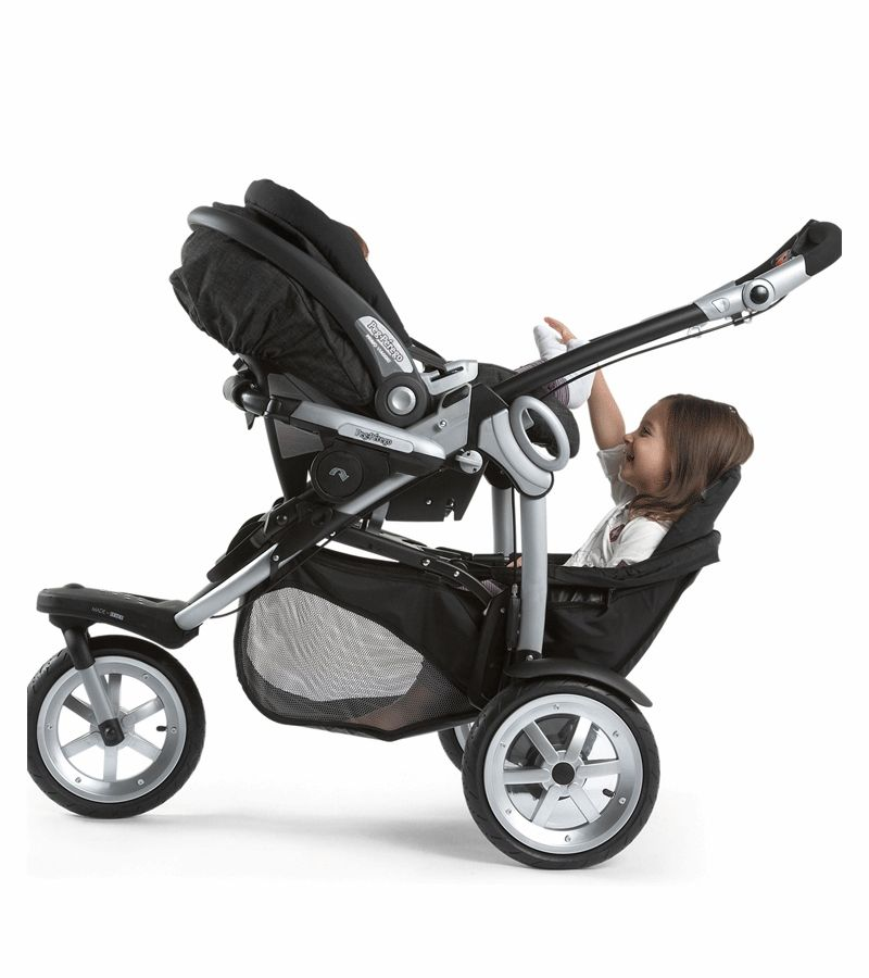 Peg Perego Stroller Gt3 Peg Perego 2010 Gt3 For Two All Terrain Double Stroller In