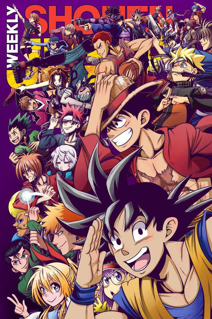Weekly Shonen Jump 2016 Cover Contest Entry by kentaropjj on DeviantArt