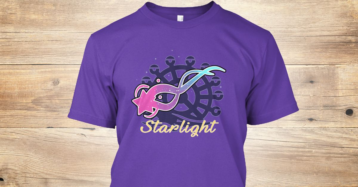a31f27f89d02 Discover Starlight Teeshirt (Purple) T-Shirt from Aphmau