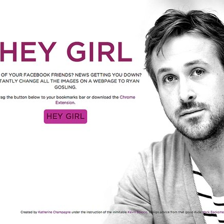 Hey, Girl: Install This Ryan Gosling App Because Why Not, Right?