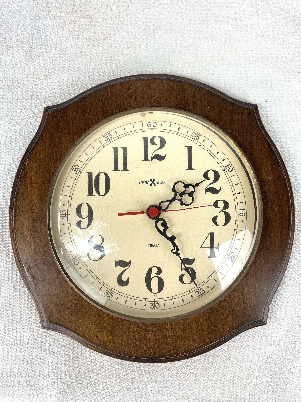 Howard Miller 612 607 Quartz Wall Clock In 2020 Clock Wall Clock Howard Miller