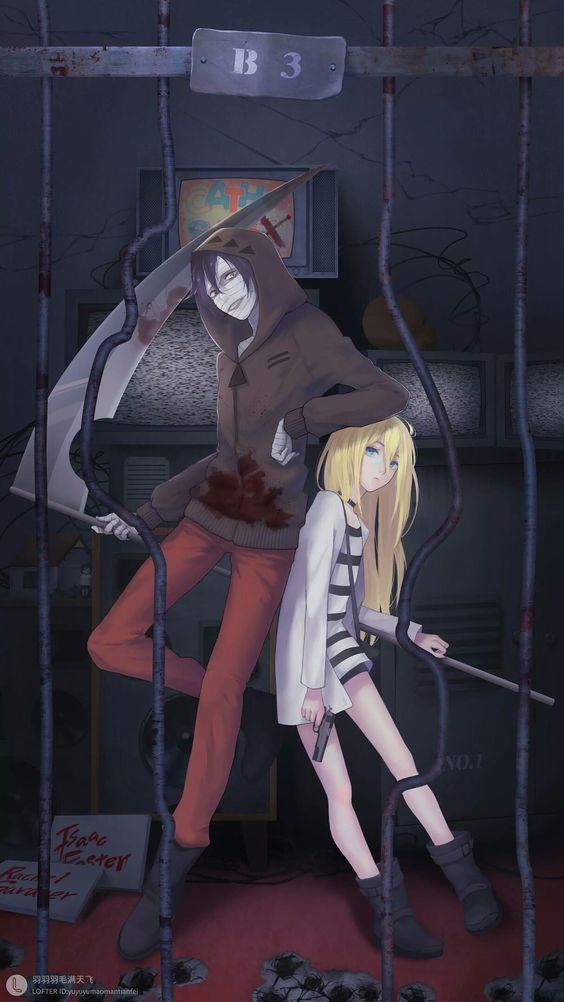 Photo of Zack & Ray -Angel of death #Zavck #ray #angelofdeath #cosplayclass