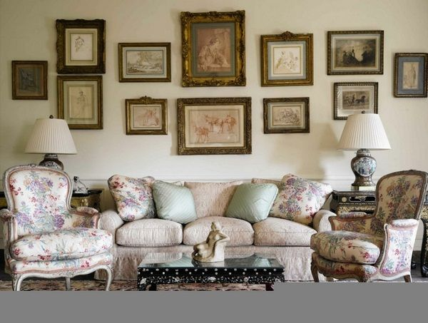 Country-style-French-vintage-antique-furniture-LIVING-ROOM-chairs ...