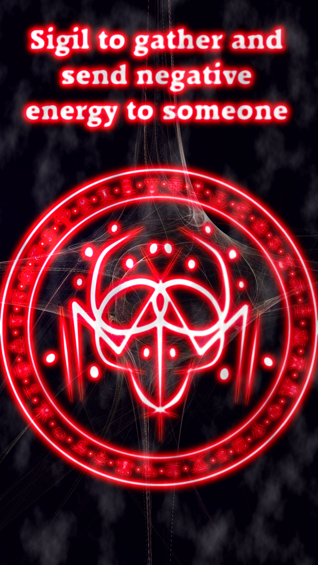 Sigil to gather and send negative energy to someone | BoS