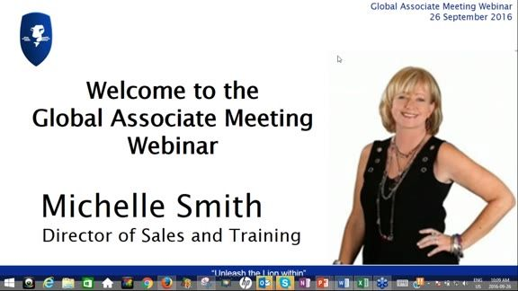 Michelle Smith, Director of Sales and Training leads us on the final webinar before the enhanced Marketing Plan comes into effect.