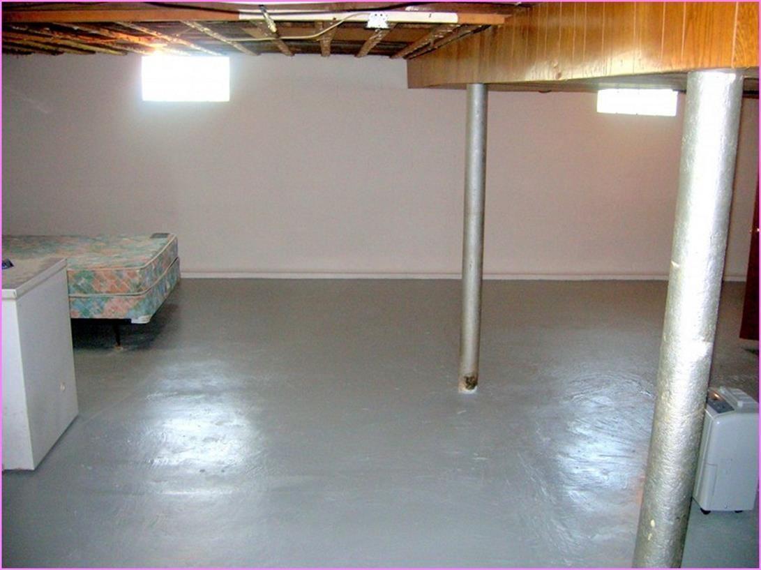 30 Perfect Basement Concrete Floor Paint Color Ideas
