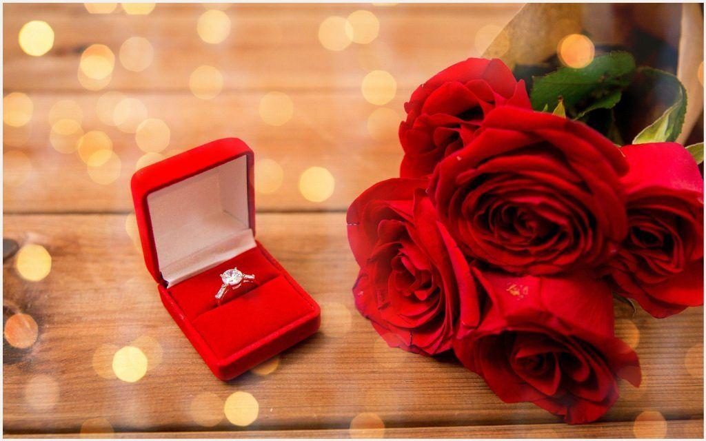 Flower Engagement Ring Love Wallpaper | flower engagement ring ...