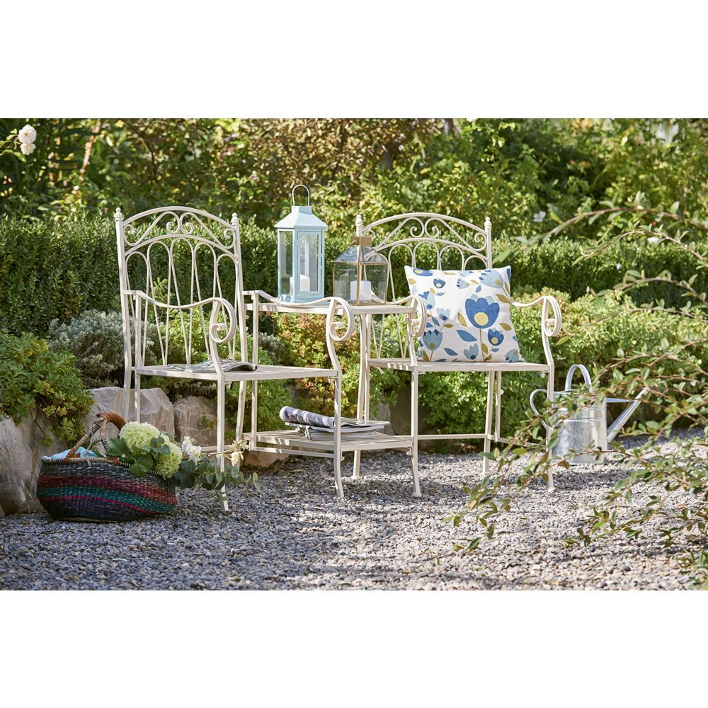 wilko romance love seat 2 seater garden furnitureoutdoor
