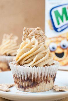 Zimtige Cini-Minis-Cupcakes #donutcake