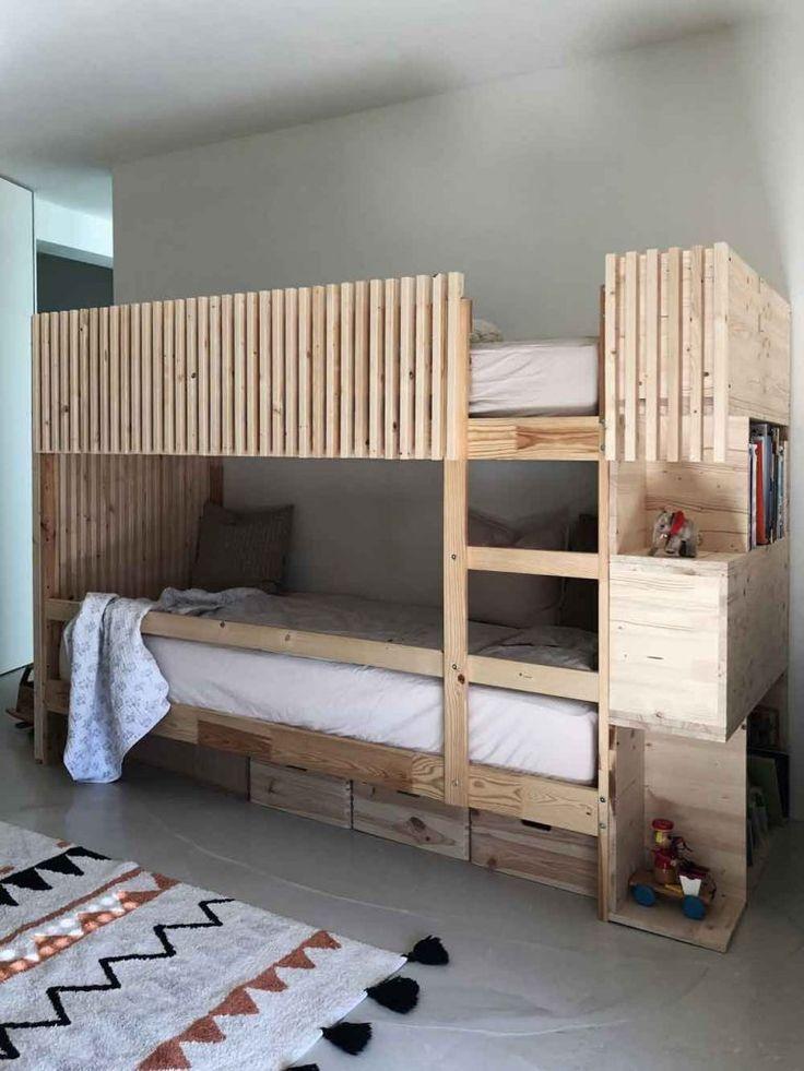 DIY | ein Stockbett aus Holz einfac