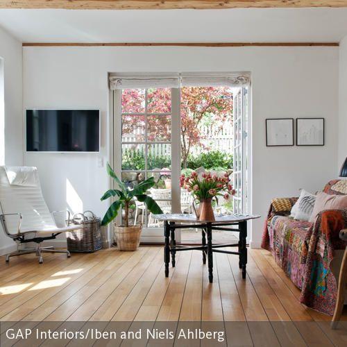 Frische Ideen fürs Wohnzimmer Stilmix mit Flair Abwechslung - wohnideen wohnzimmer holz