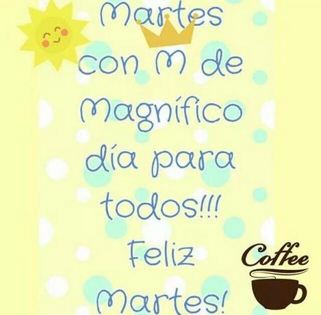 Buenos Días Martes Magnífico Dlb