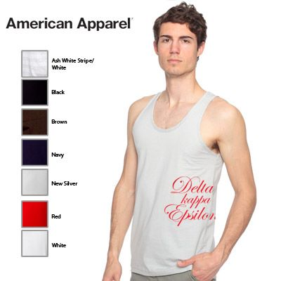 f2ae5080 Fraternity American Apparel Scripted Tank Top #Greek #Clothing #Fraternity