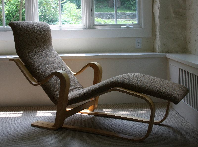 Marcel Breuer Isokon Long Chair- Mid Century Modern Chaise Lounge Chair. : mid century modern chaise - Sectionals, Sofas & Couches