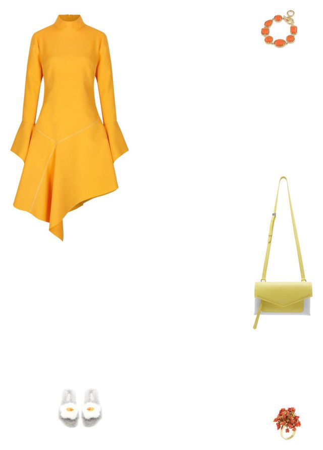 """""""Grace"""" by zoechengrace on Polyvore featuring Paper London, Anya Hindmarch and 1st & Gorgeous by Carolee"""