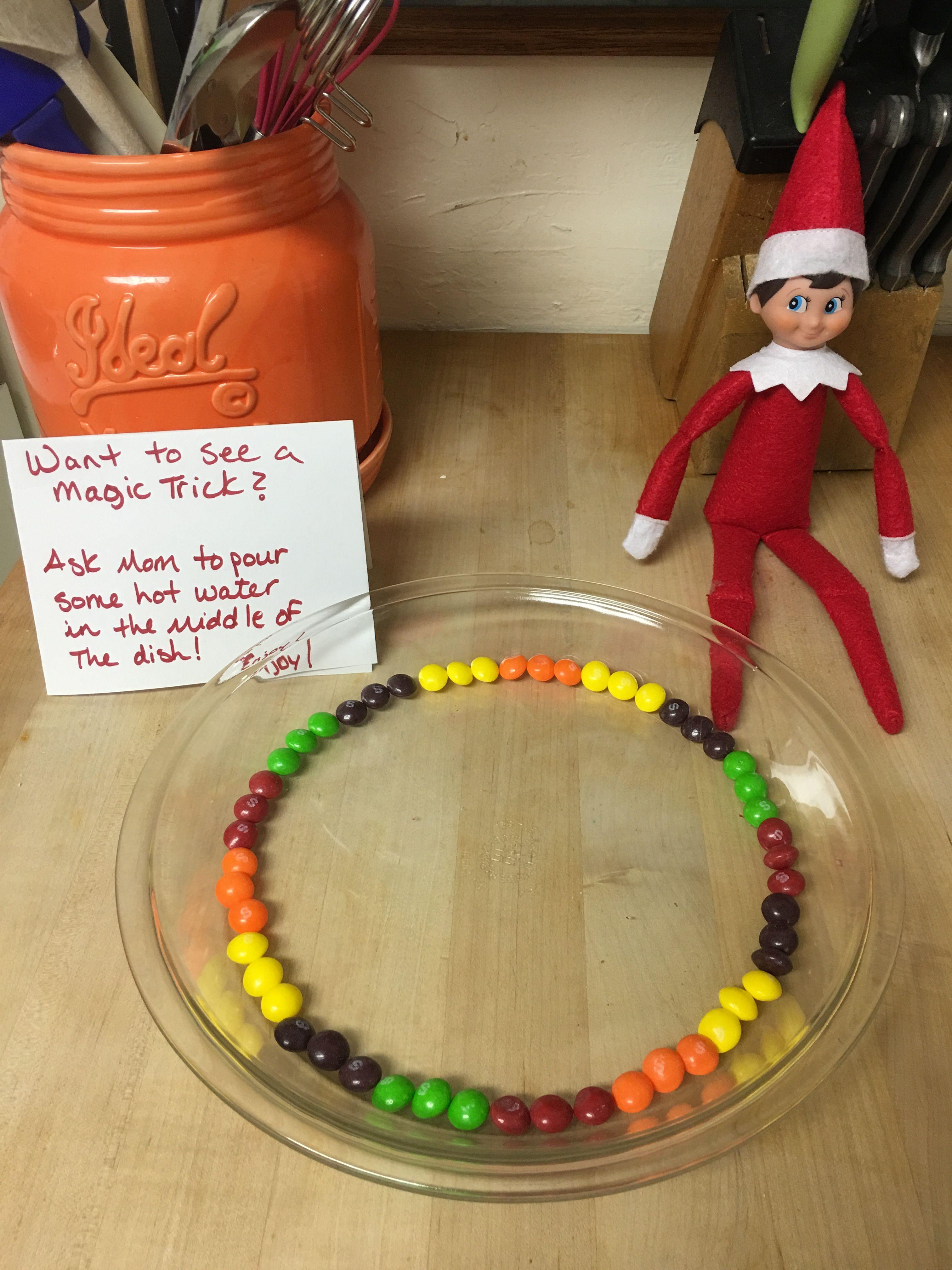 Elf On The Shelf #naughtyelfontheshelfideas