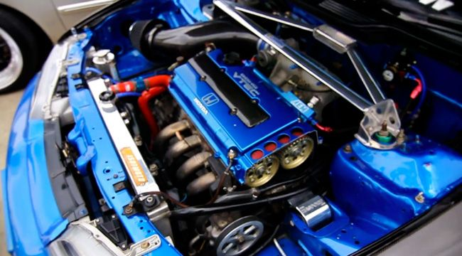 This Is What A Good Looking Honda Engine Bay Should Look Like Honda Acura Civic Integra Gsr Braggenrites Jdm Honda Honda Civic Honda