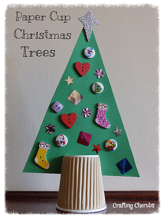 Craftingcherubsblog Paper Cup Crafts Christmas Tree Crafts Winter Crafts For Kids