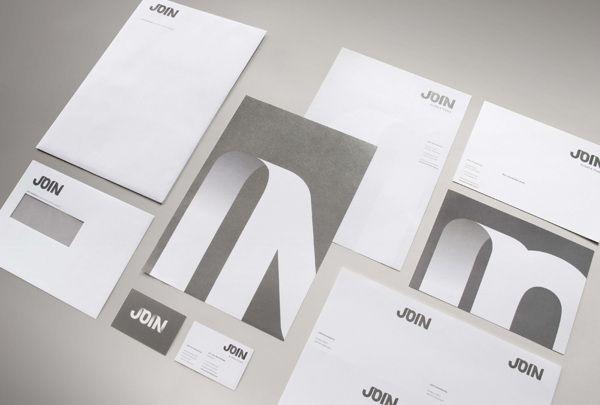 Join By Kathy Ager Via Behance Business Card Logo Branding Logo Branding