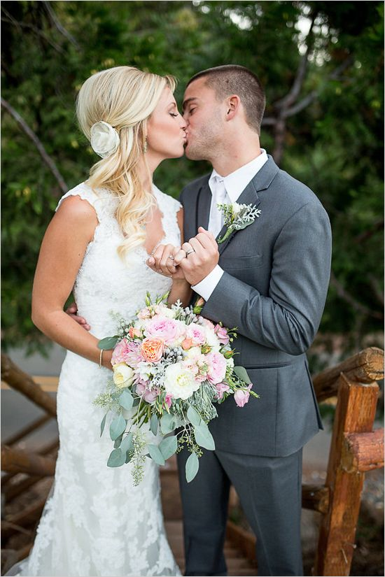 Teal Gray And Pink Wedding Ideas