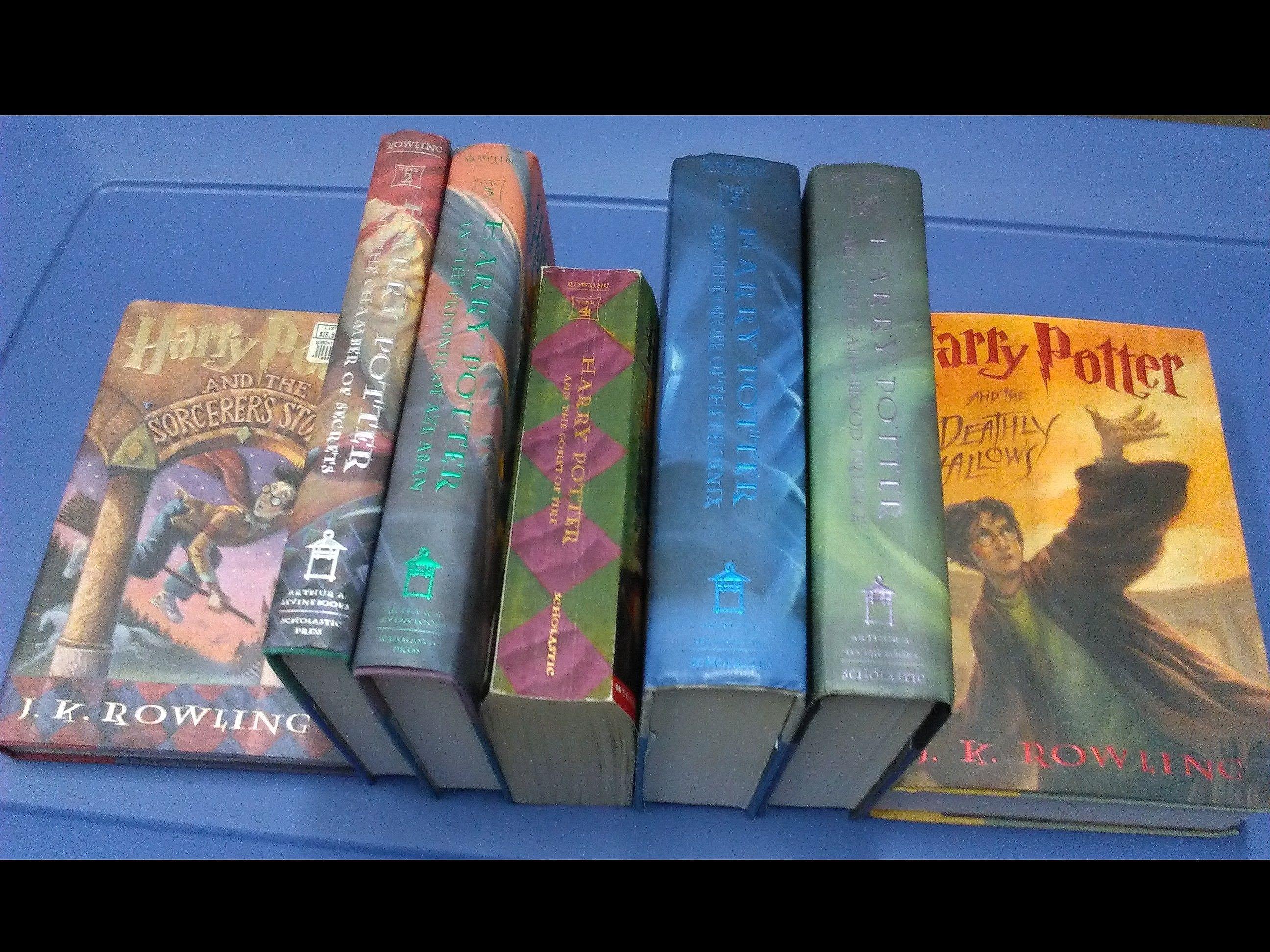 Harry Potter Box Set Paperback Harry Potter Box Set Harry Potter Book Set Potter Box