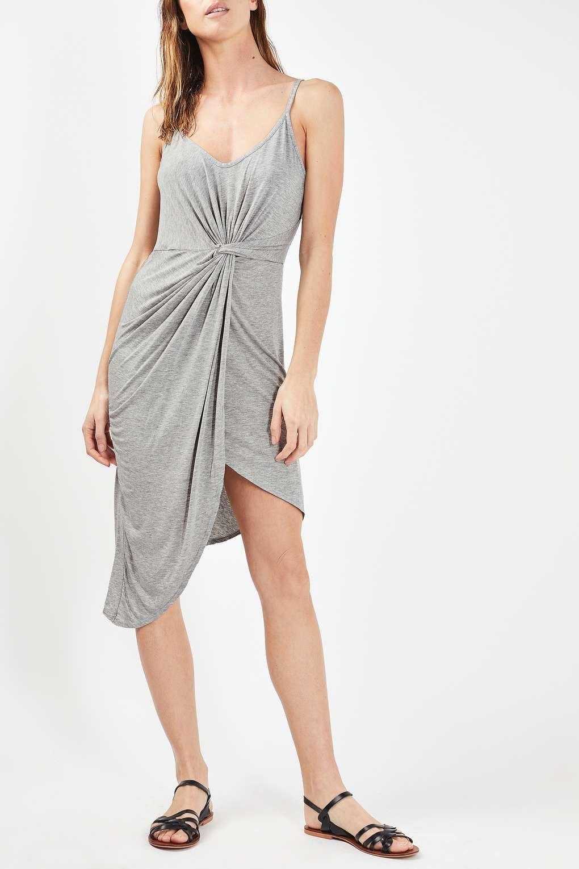 cc889a7ecb42 Knot Front Dress