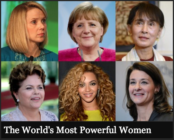 Heres how Forbes 100 most powerful women stack up on Twitter and Facebook