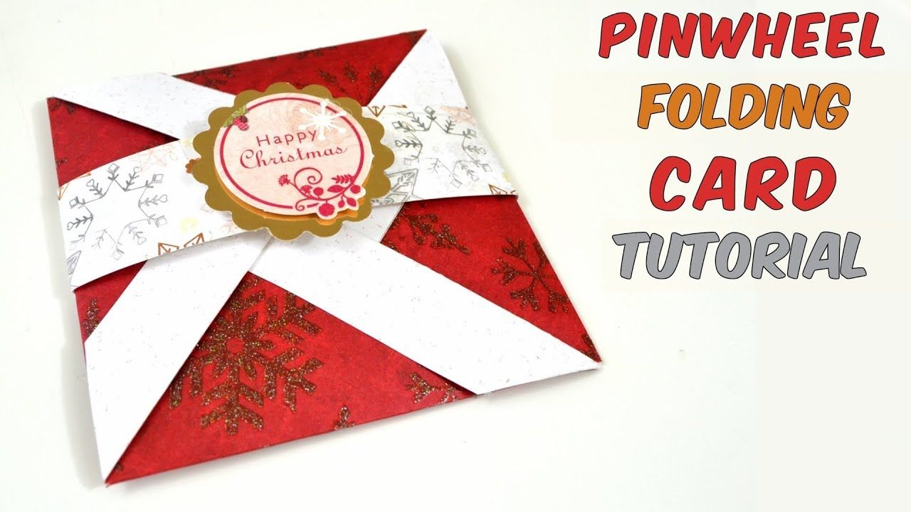 Pop up card how to make pinwheel folding card for christmas easy diy crafts how to make greeting cards for christmas pop up card tutorial easy crafts ideas m4hsunfo