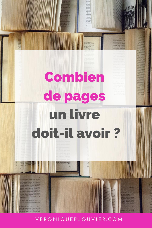 Combien De Pages Pour Un Roman : combien, pages, roman, Épinglé, Ecrire, Livre