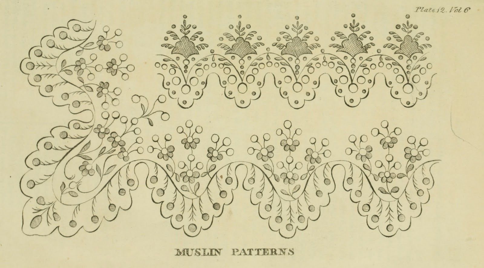 EKDuncan - My Fanciful Muse: Regency Era Needlework Patterns from ...